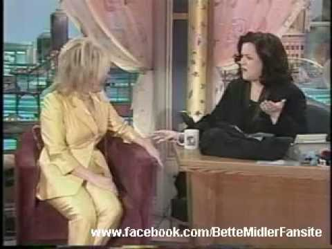 Bette Midler - The 500th Rosie O'Donnell Show ( Part 1 )