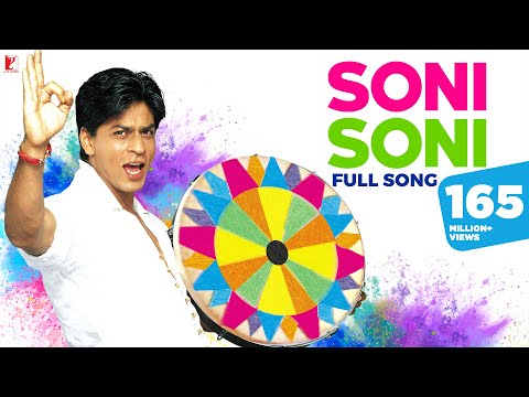 Soni Soni - Full Holi Song - Mohabbatein video
