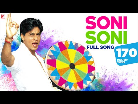Soni Soni - Full Holi Song in HD - Mohabbatein