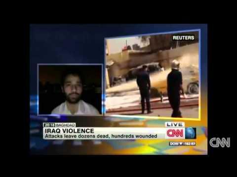 Day after Boston Marathon bombings wave of deadly terrorist bombings strike Iraq