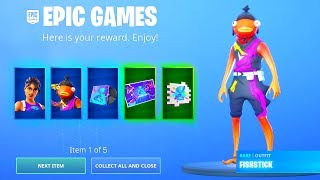 """NEW *FREE* """"WORLD CUP"""" ITEMS in Fortnite..! (Fishstick World Cup Style)"""
