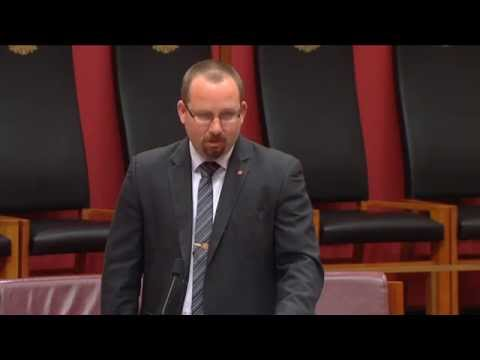 Senator Ricky Muir | Motorcycle Crash Helmets | 13-Oct-2015