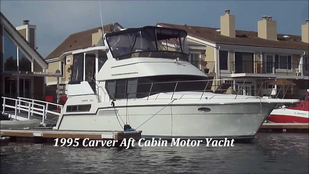 Carver 355 Aft Cabin Motor Yacht Video Sold South