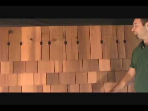 How To Install Cedar Shingles Youtube