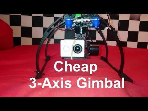 Cheap 3-Axis Gimbal Storm32 From Box to Flight
