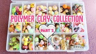 Updated Polymer Clay Charm Collection Part 2 *NEW 2017*
