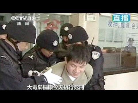 China divulga imagens de condenados à morte antes da execução