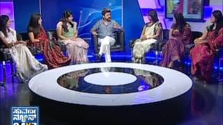 Ramesh Aravind with Suvarna girls - Seg _ 2 - 31 Mar 2013 - Suvarna News