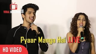 Armaan Malik And Neeti Mohan LIVE Performance | Pyaar Manga Hai Song