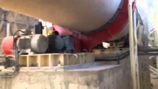 Rotary kiln for Gypsum Morocco Safi Erisim Makina