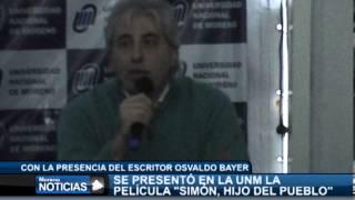 Presentaron la película Simón Hijo del Pueblo   Armando Minguzzi y Osvaldo Bayer 1