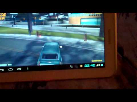 Samsung Galaxy Tab 2 7.0 Gta3 with PS3 Controller