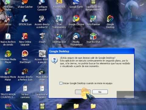 descargar google desktop 2012