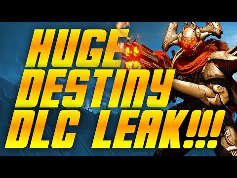 Destiny - Huge DLC Leak - House of Wolves Release Date - Comet: Plague of Darkness and Much More!