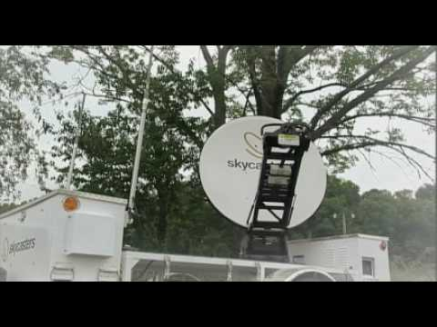 Skycasters MST - Mobile Satellite Internet Trailer