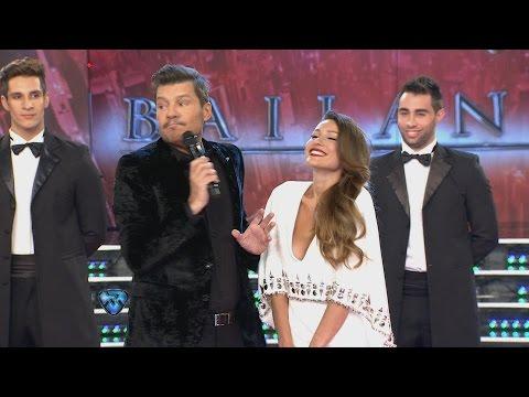 El gesto de Pampita cuando Tinelli le preguntó si ya estaba separada de Pico Mónaco