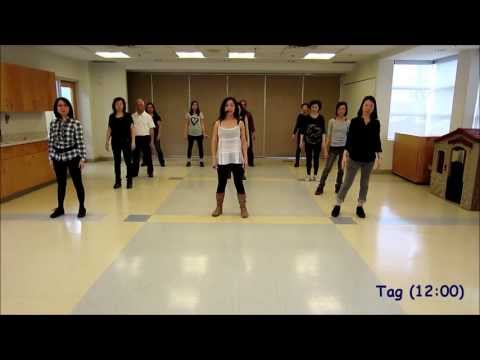 The Fox Linedance What Does The Fox Say? - Line Dance (dance & Teach) video