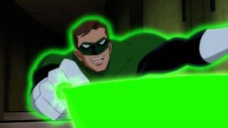 'Justice League: Doom' Clip - Green Lantern vs Ten of The Royal Flush Gang