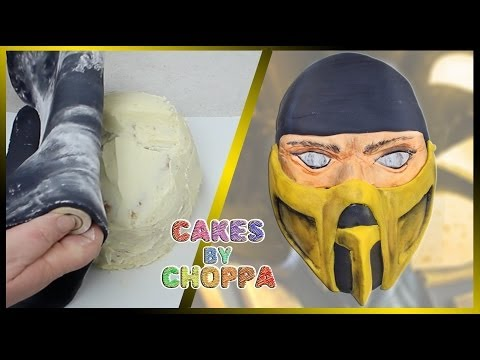 Scorpion Cake (How To) | Mortal Kombat