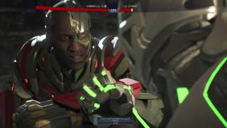 Injustice 2 Cyborg Vs Grid Boss Still Human Short Circuit Multiverse Event Planet