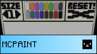 PAINT IN VANILLA MINECRAFT (1.10 Snapshot)