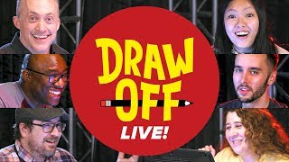 Draw-Off Live • We Draw Your Suggestions