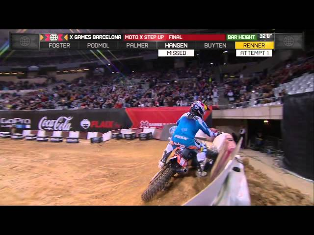 Ronnie Renner Wins Gold in Moto X Step Up