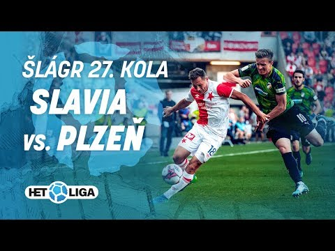 Šlágr 27. kola HET ligy: Slavia - Plzeň (5. 5. 2018)