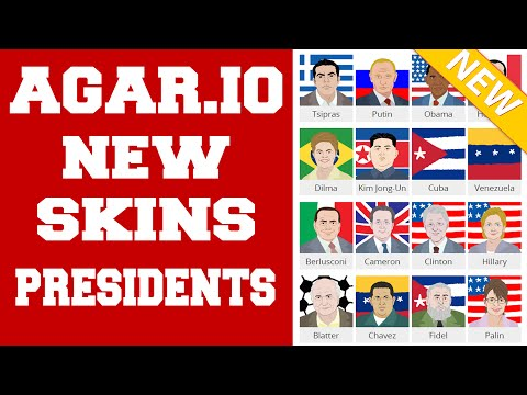 Скины президентов в agar.io