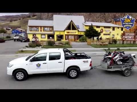 Moto cross Patagonia SK Expeditions