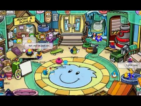 NEW 2012! Club Penguin- Get Any color of Puffle Without Member. With Proof! No donwload