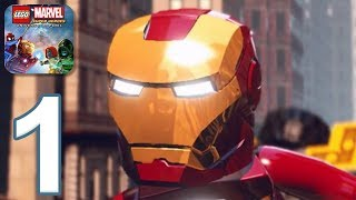 LEGO Marvel Super Heroes - Gameplay Walkthrough Part 1 (iOS, Android)