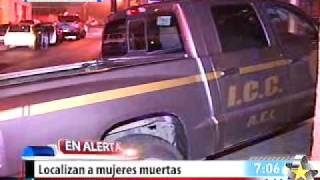 Mujeres muertas (Video Impactante)