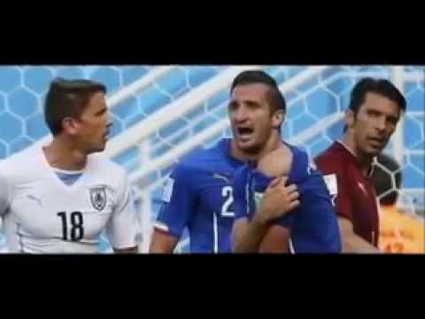 Luis Suarez BITE Uruguay striker in World Cup controversy