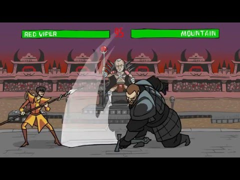 Game of Thrones animated parody series trailer
