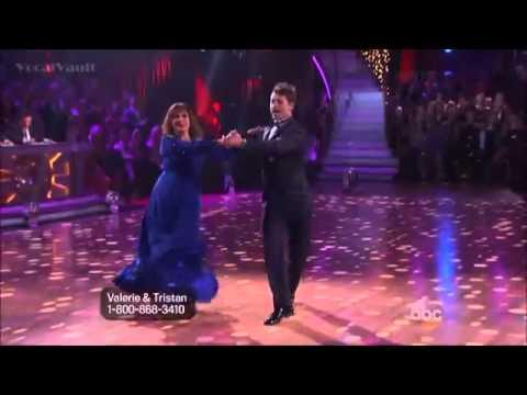 Valerie Harper & Tristan   Foxtrot   DWTS 17 Opening Night)