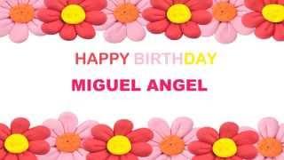 Miguel Angel   Birthday Postcards & Postales8 - Happy Birthday
