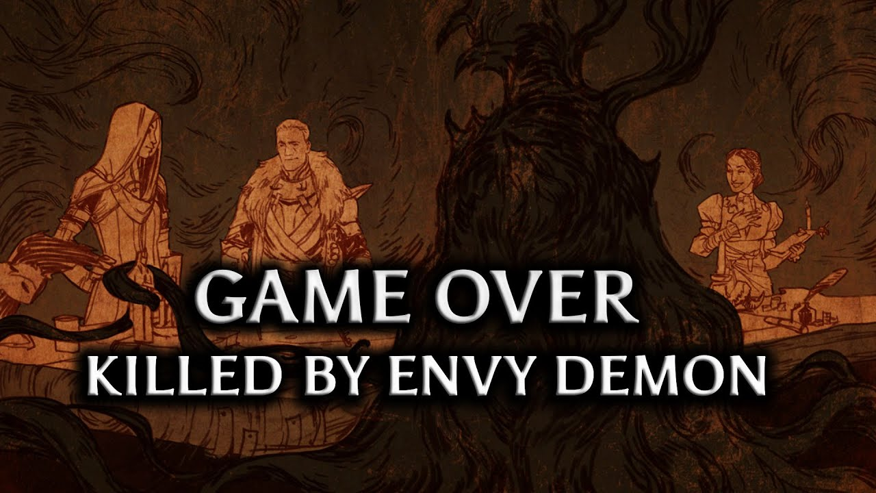 Envy Demon Cullen Killed by Envy Demon