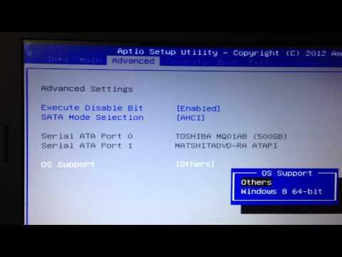 Como instalar windows 7 ou 8. notebook cce ultra  h125