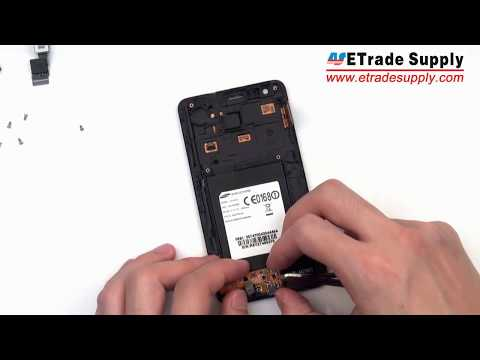 Repair guide for changing Samsung Galaxy S2 charging port flex cable/disassembly video