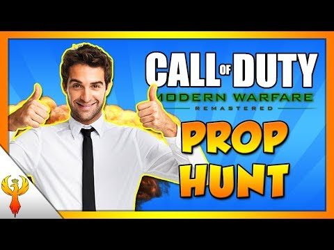 DISCOUNT CODE! - MWR Prop Hunt Funny Moments! (Call of Duty: Modern Warfare Remastered)