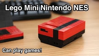 Working Lego Mini Nintendo: Mini NES