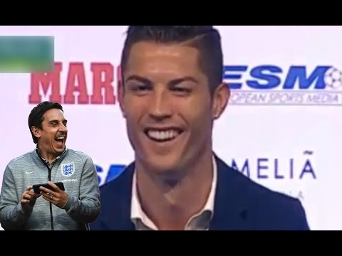 Cristiano Ronaldo Hits Out At Gary Neville:  'He Looks Like A Rodent!'*