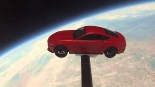2015 Mustang in Space