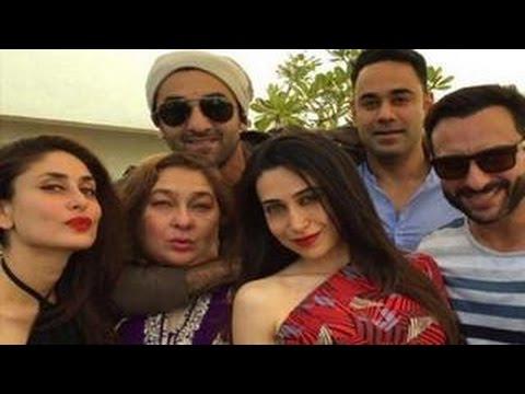 Kareena, Ranbir, Karishma Attend Shashi Kapoor's Christmas Party video