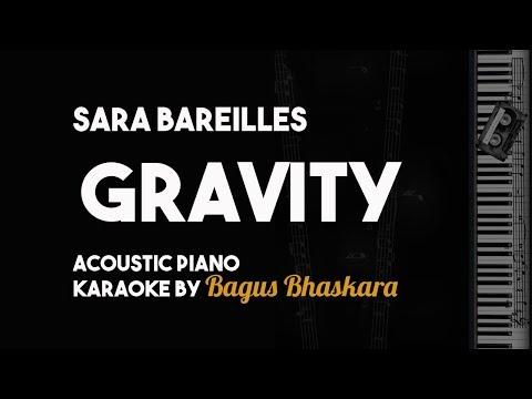 Sara Bareilles - Gravity (Piano Karaoke Backing Track With Lyrics on Screen)