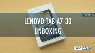 Lenovo Tab A7-30 Unboxing