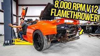 I Hacked My Fast & Furious Lamborghini's Exhaust And It Sounds INSANE!! (FLAMES INCOMING!)