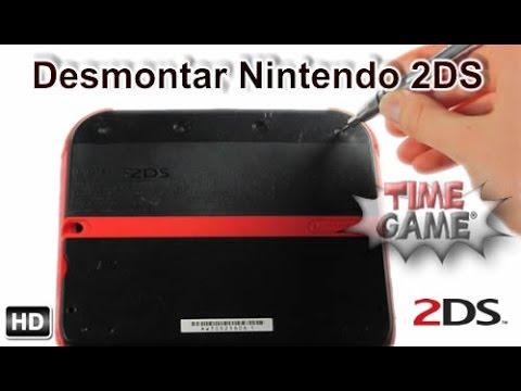 Desmontar por completo una Nintendo 2DS