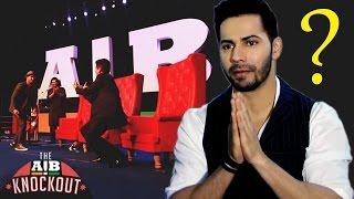 Varun Dhawan Reacts On AIB Roast Controversy